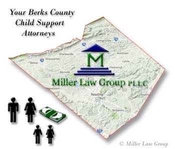 Berks County Child Support Attorneys Graphic